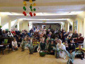 Panevėžio Mykolo Karkos pagrindinės mokyklos mokinių spektaklis