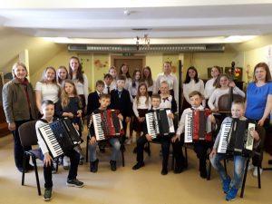 Naujamiesčio moksleivių koncertas