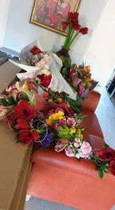 Dovanotos gėlės