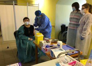 Covid-19 vakcina mūsų įstaigoje